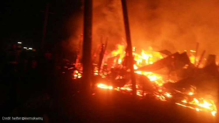 Fire Rips through Korogocho Market Barely a Day after the Gikomba Fire