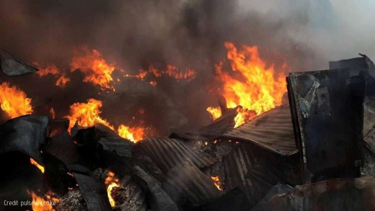 15 Dead as Fire Razes Down Gikomba Market