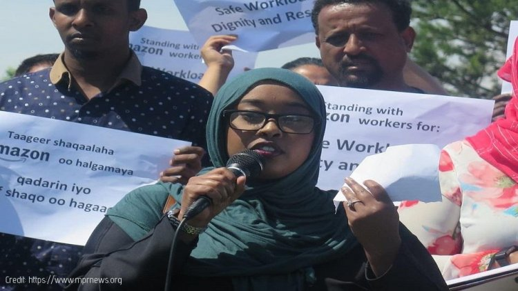 East African Workers demand Safer Working Conditions at Amazon's Eagan Warehouse