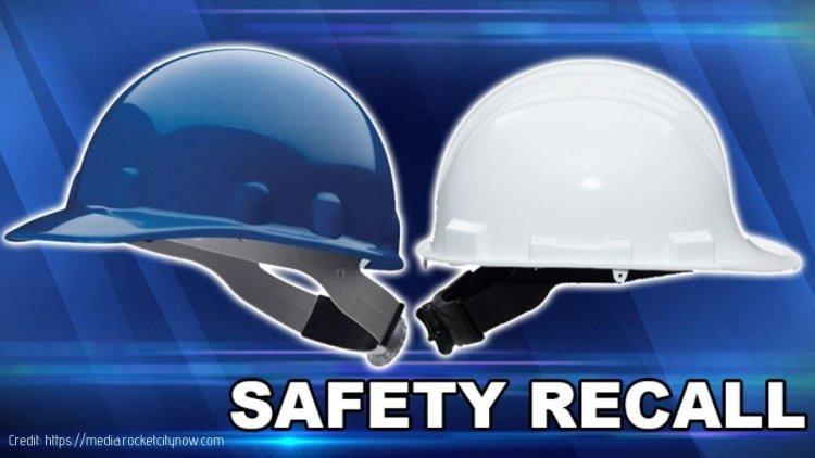 Honeywell Recalls Hard hats due to Risk of head Injury