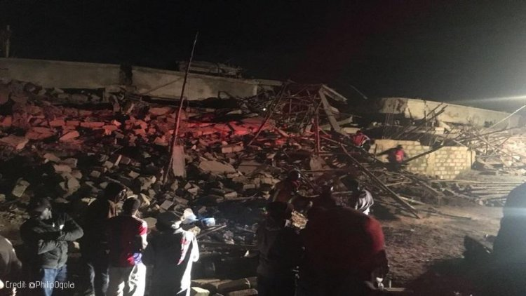 Guard injured following Collapse of Building in Ruaka