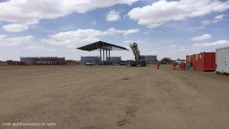 Tullow Setting up Early Oil processing Facility in Northern Kenya